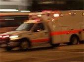 Responding Ambulance