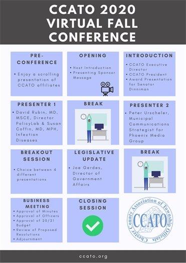 CCATO 2020 Virtual Fall Conference Agenda