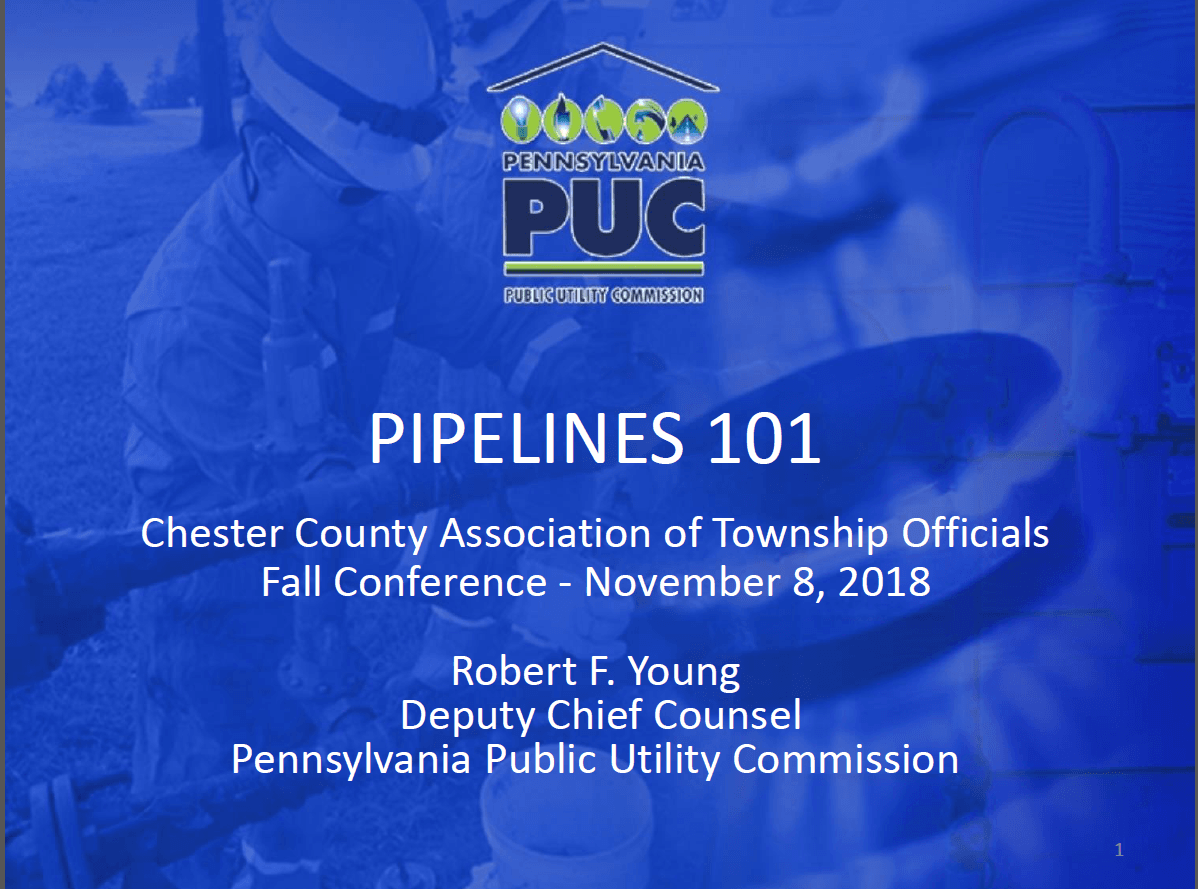 Pipelines 101 PUC Picture